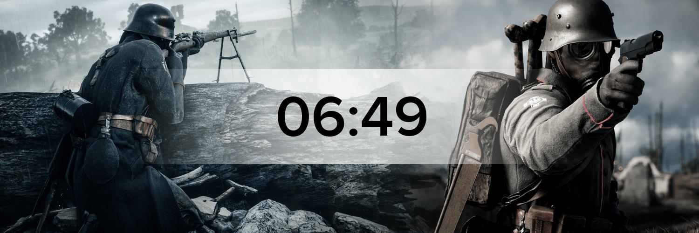 Battlefield 1 - Variante 2 Hostbanner