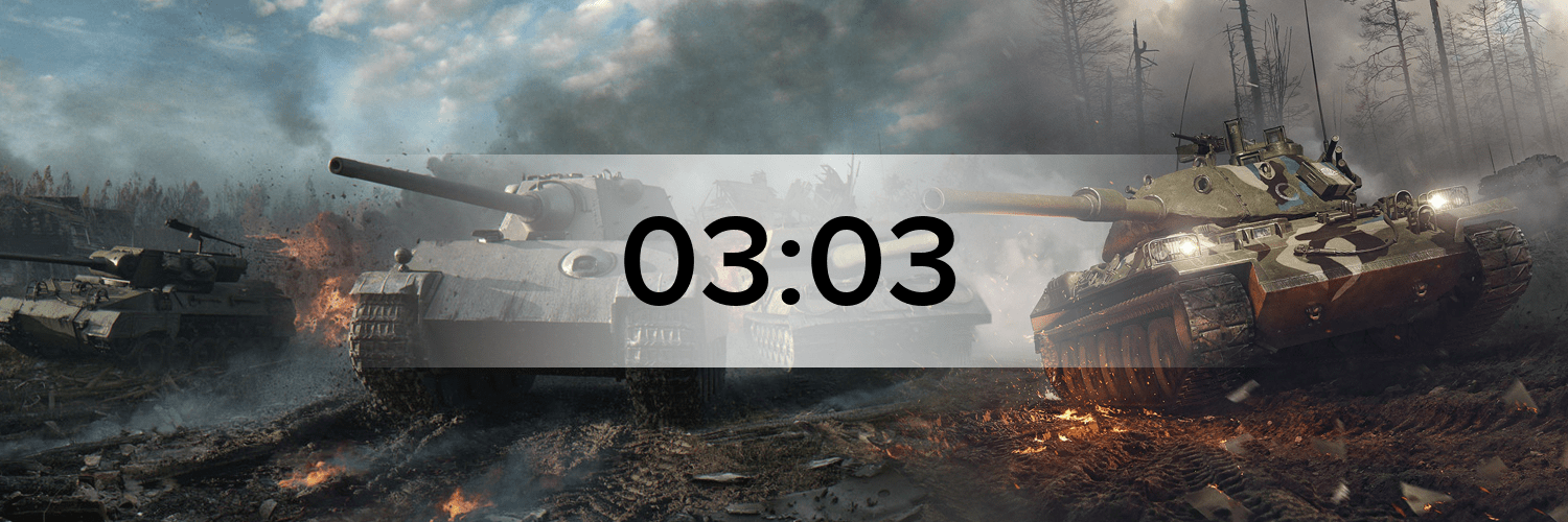World of Tanks - Variante 2 Hostbanner