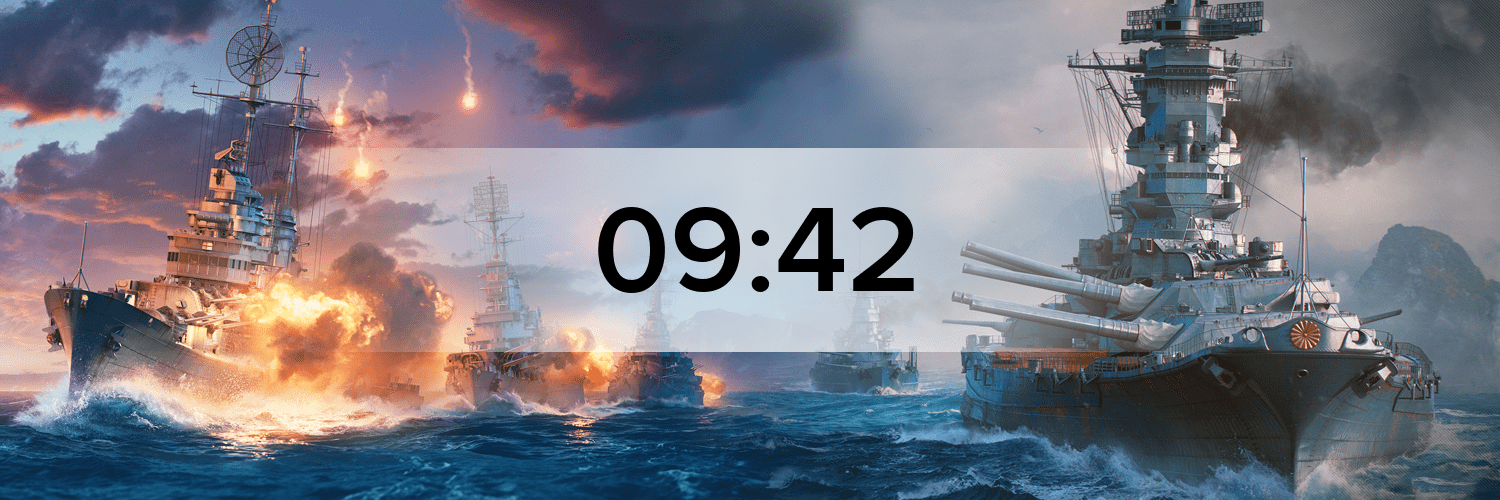 World of Warships - Variante 2 Hostbanner