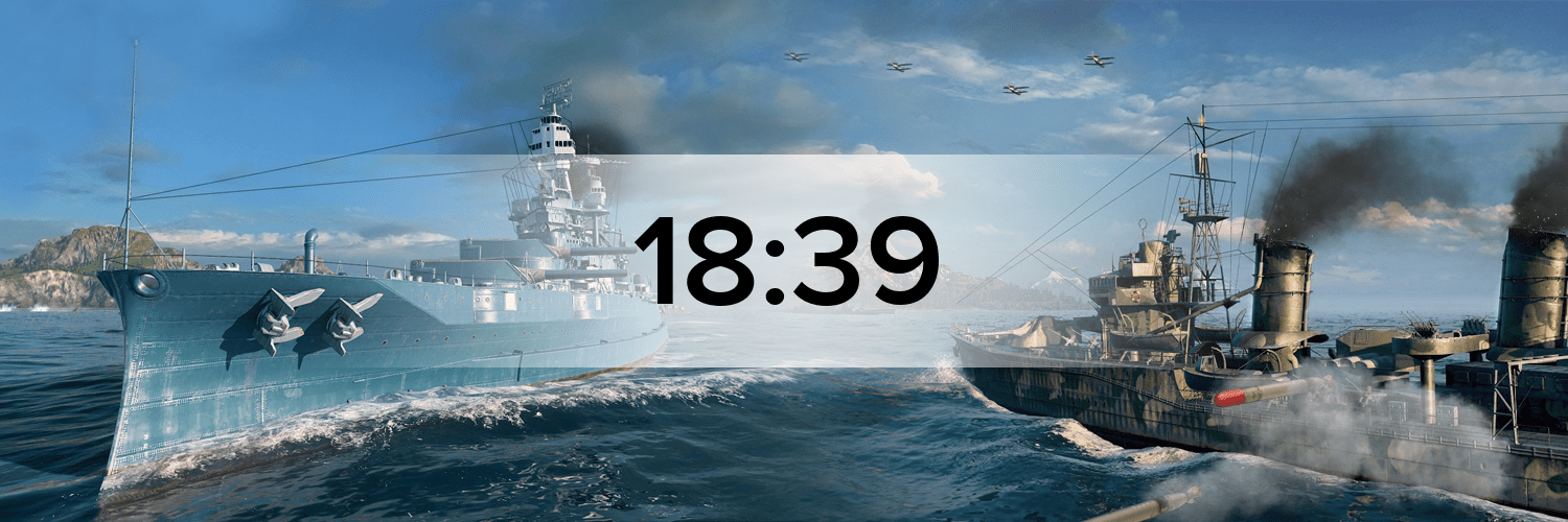 World of Warships - Variante 1 Hostbanner